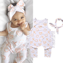 Load image into Gallery viewer, Baby Girl Newborn Cotton Romper