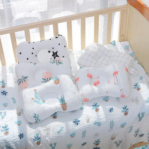Baby Concave Pillow - Room Bedding Decor Infant Baby Boys Girls Sleeping Cushion Neck Support Pillow