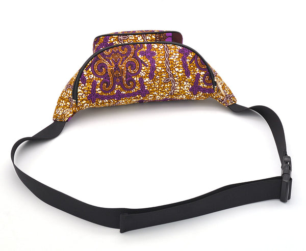 ASHA waist bag in Purple
