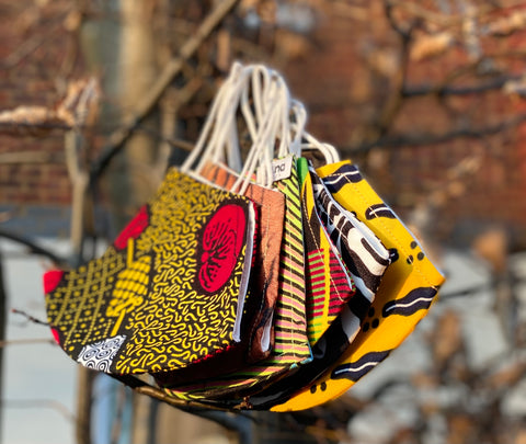 Best Reusable Face Mask African Print