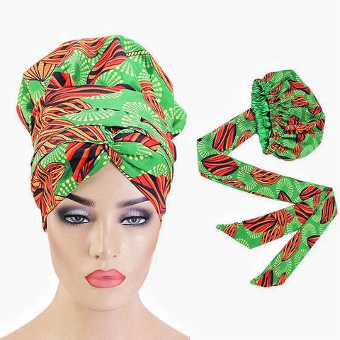 Silk Ankara Wide Band Head Wrap Chloe