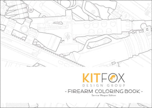 Firearm Coloring Book: Service Weapon Edition