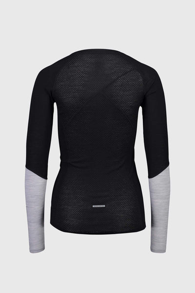 Bella Tech LS - Black / Grey Marl