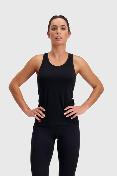 Bella Tech Tank - Black / Neon