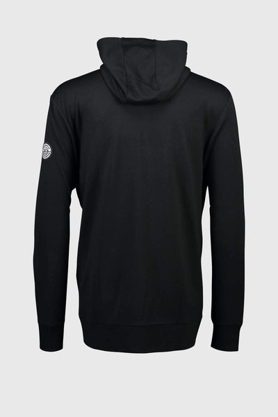 Covert Mid-Hit Hoody - Black