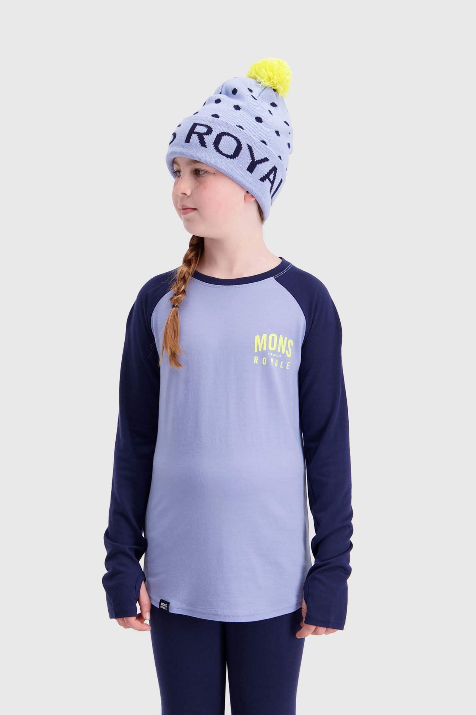 Groms LS - Navy / Blue Fog