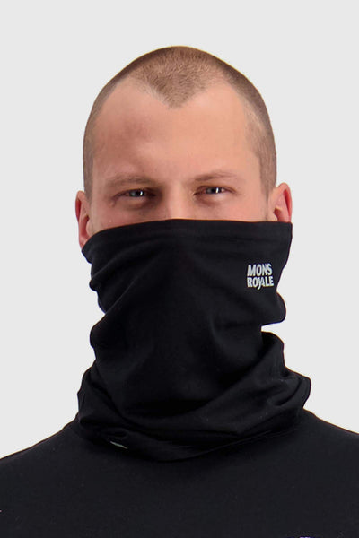 Daily Dose Neckwarmer - Black / Reflective