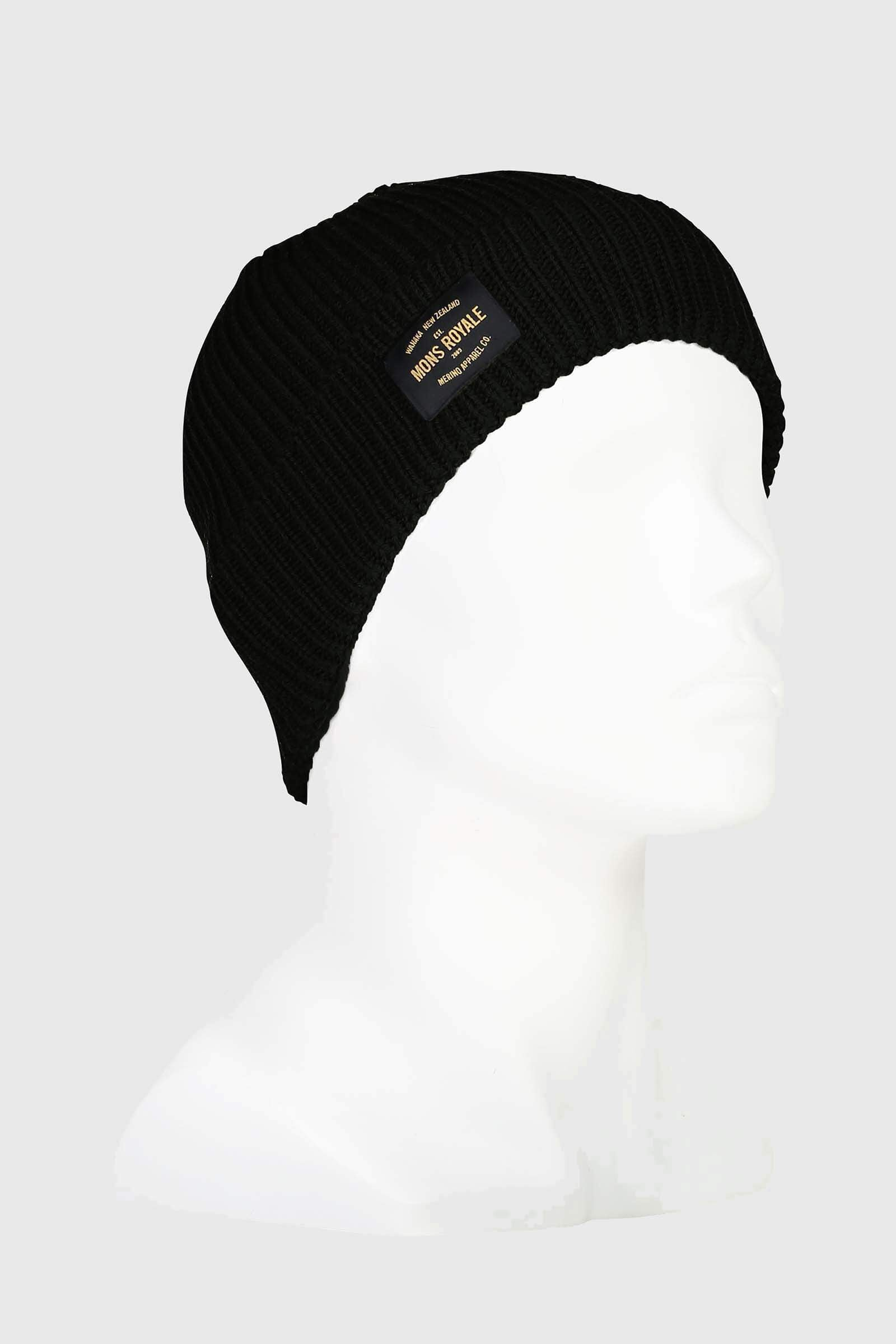 Fisherman's Beanie - Black