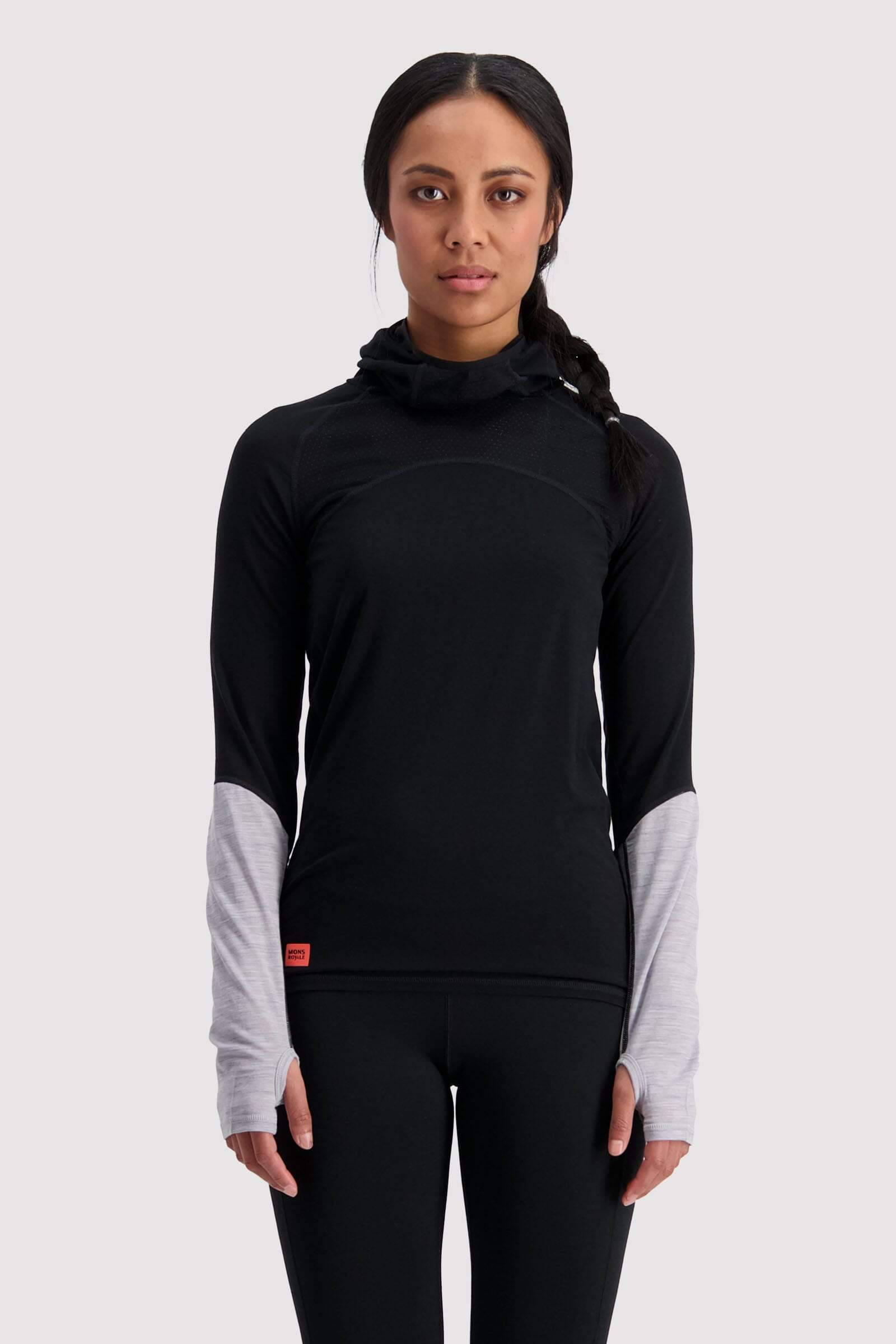 Bella Tech Flex Hood - Black / Neon