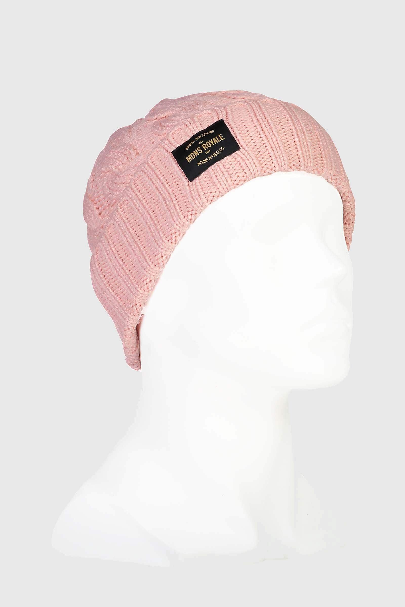 Rope Tow Beanie - Rosewater