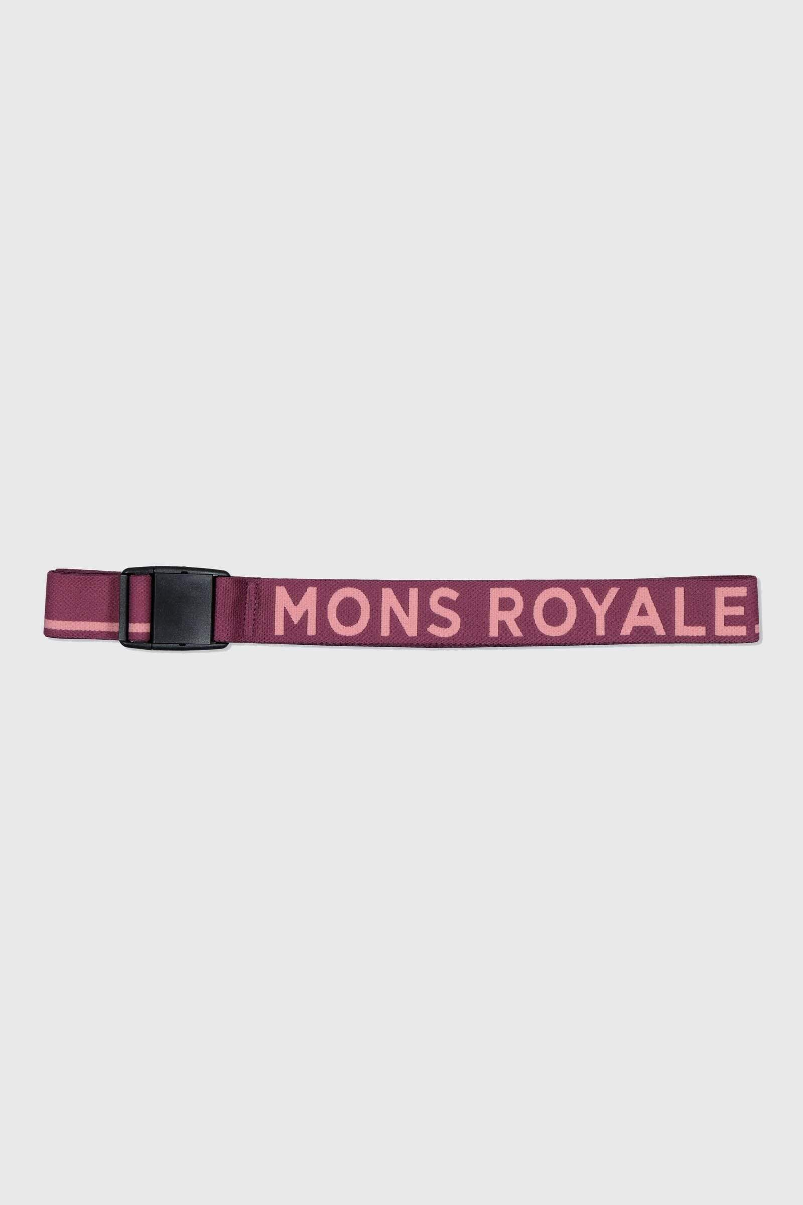 Mons Belt - Eggplant / Dusty Pink