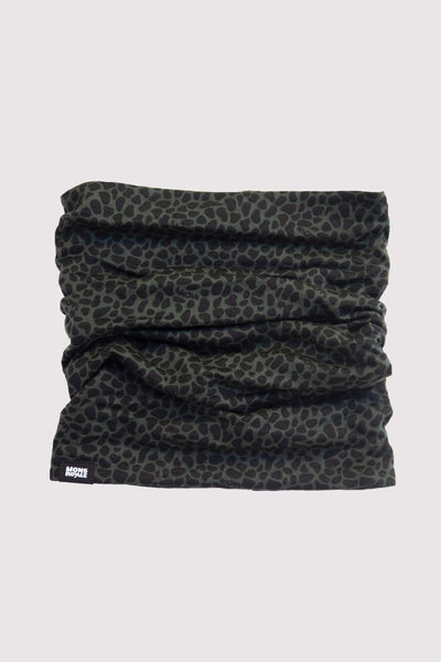 Double Up Reversible Neckwarmer - Snow Leopard