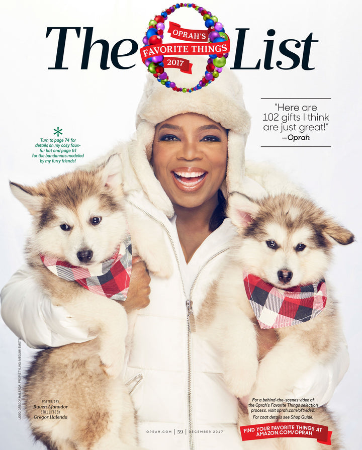 PRESS: OPRAH'S FAVORITE THINGS 2017
