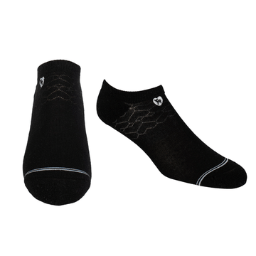 Bamboo Socks | Everyday Ankle | Midnight Black