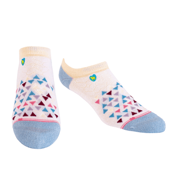 Bamboo Socks | Everyday Ankle | Sandcastle Multi