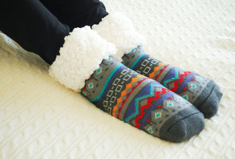 Classic Slipper Socks | Nordic Grey