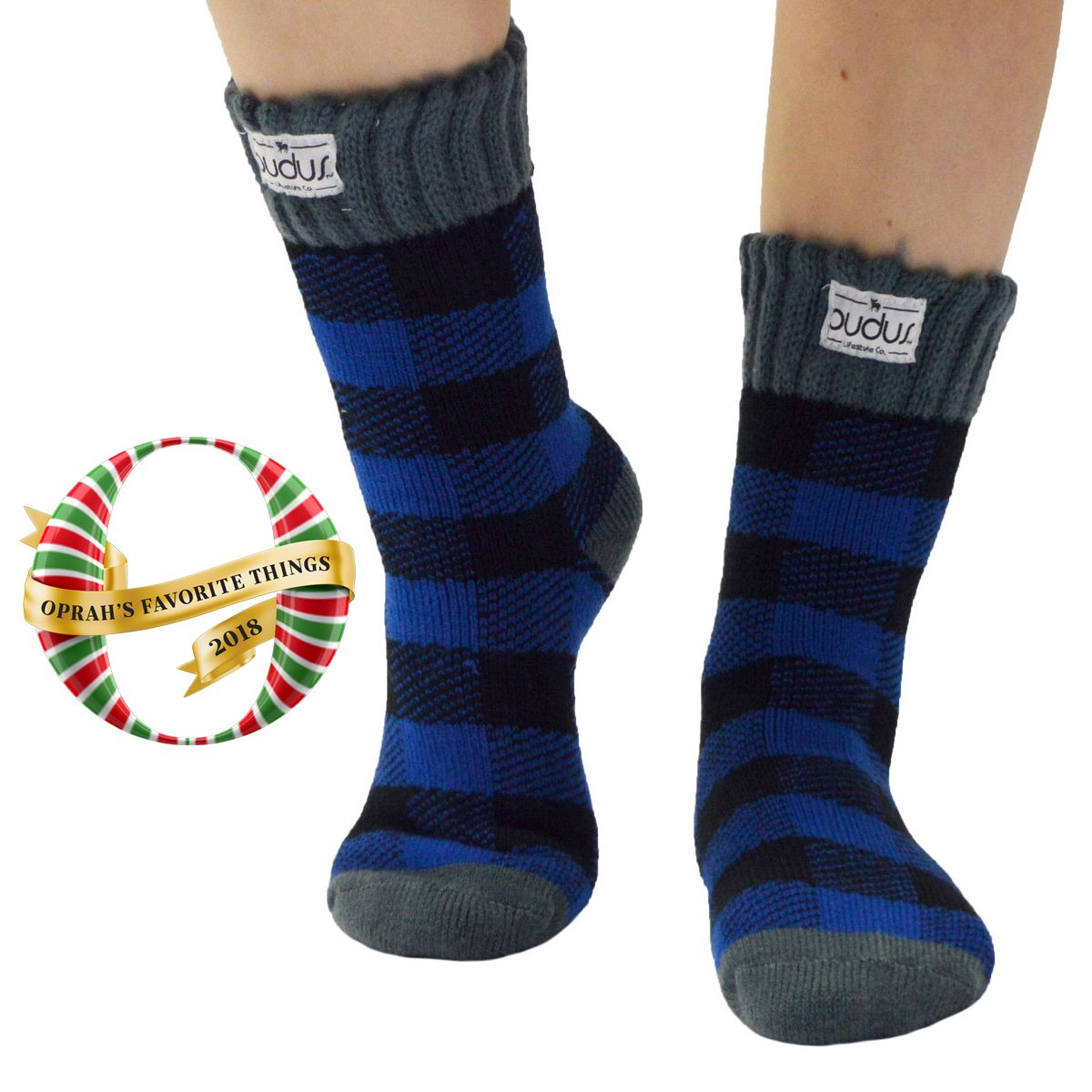 Boot Socks | Lumberjack Blue | Short