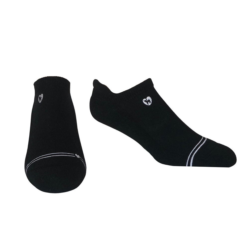 Cushioned Socks | Comfy Ankle | Midnight Black