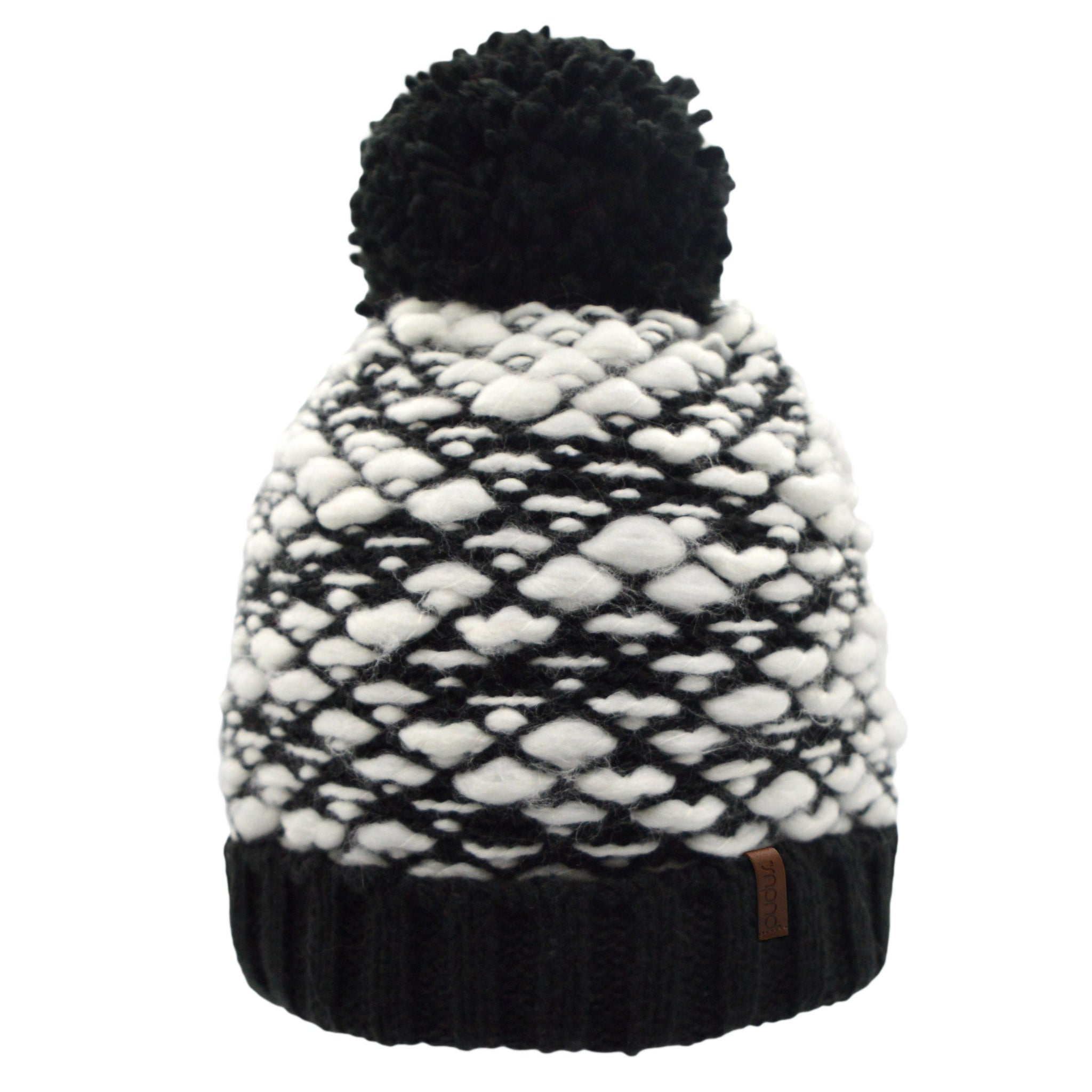 Bubble Toque Hat | Black