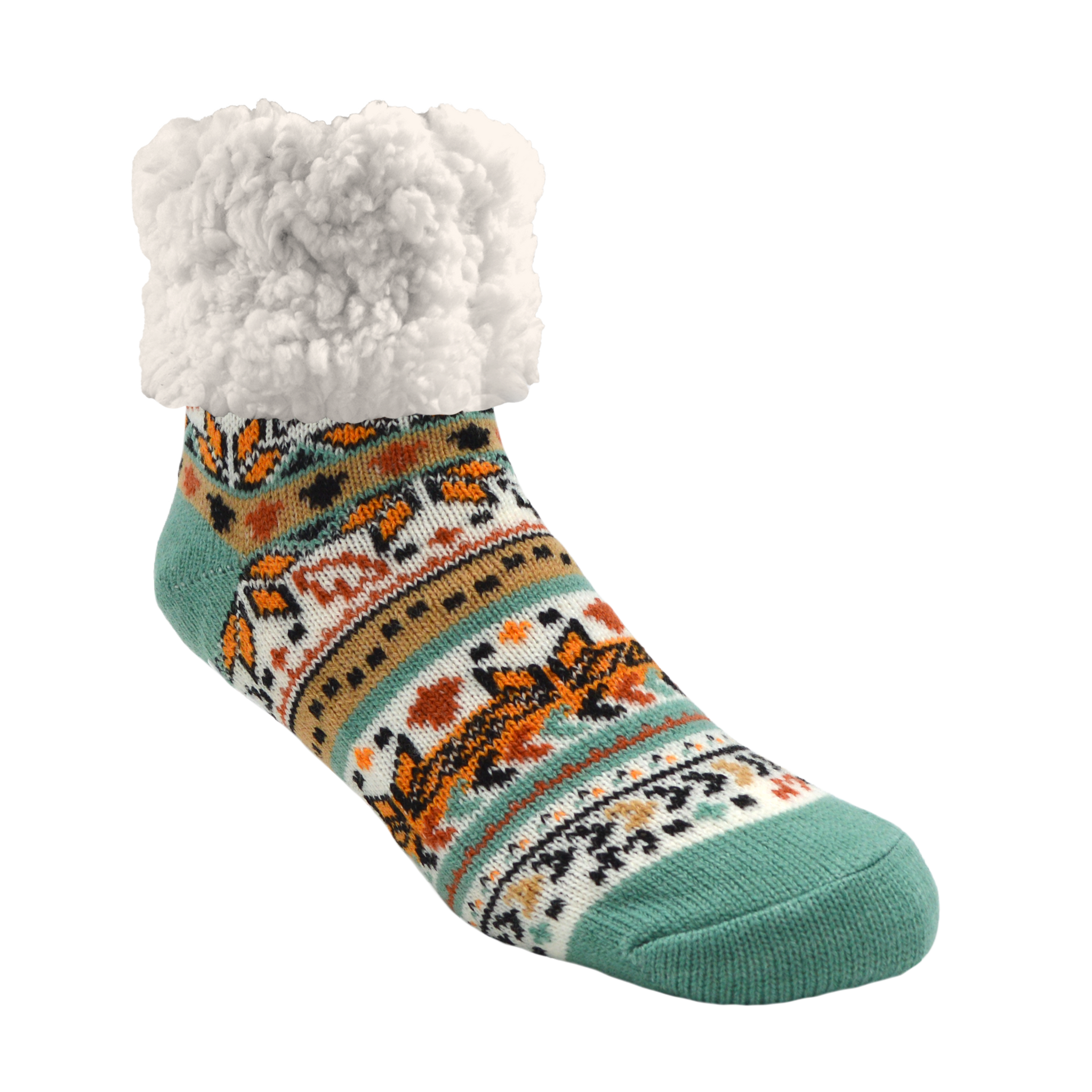 Classic Slipper Socks | Autumn White