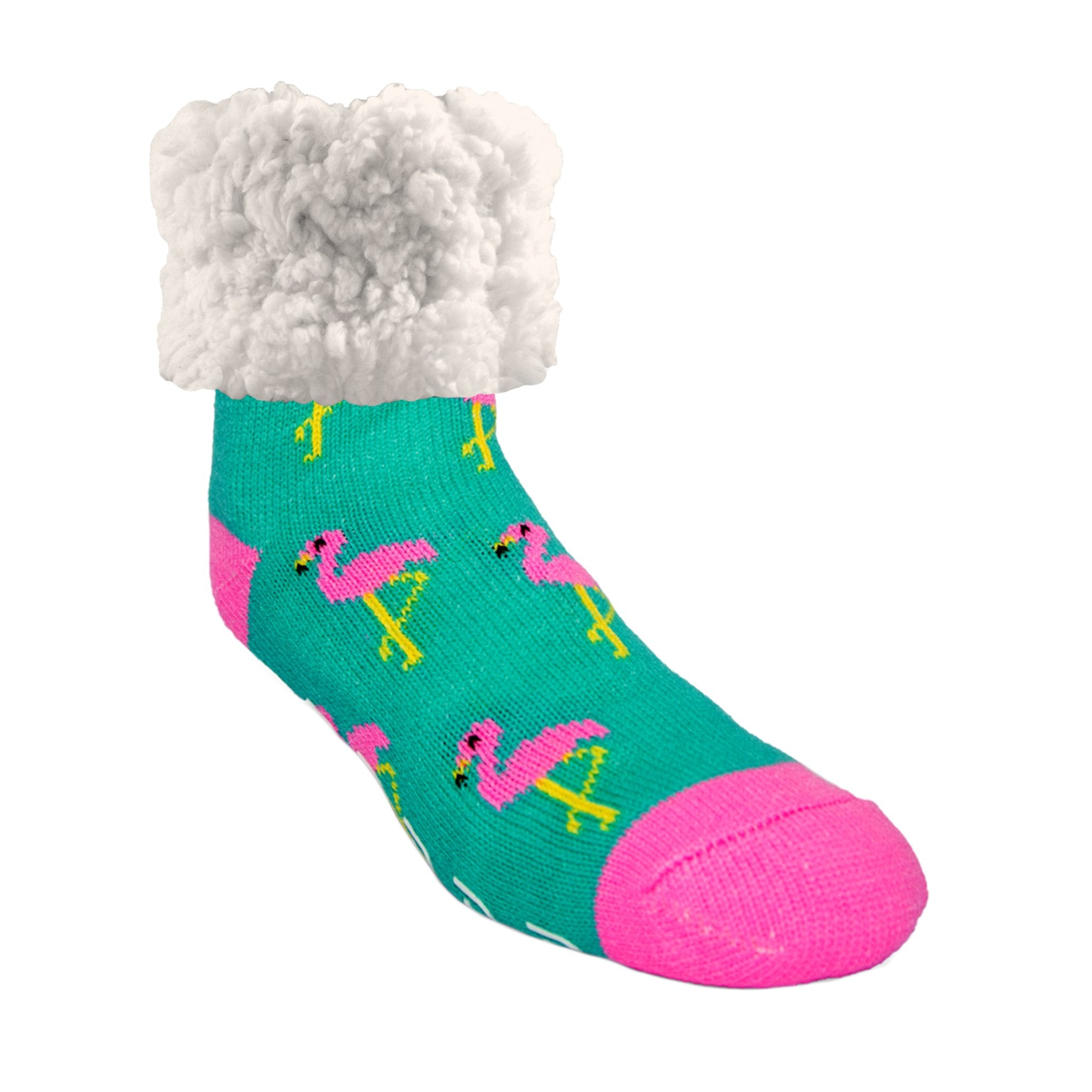 Classic Slipper Socks | Flamingo Pink