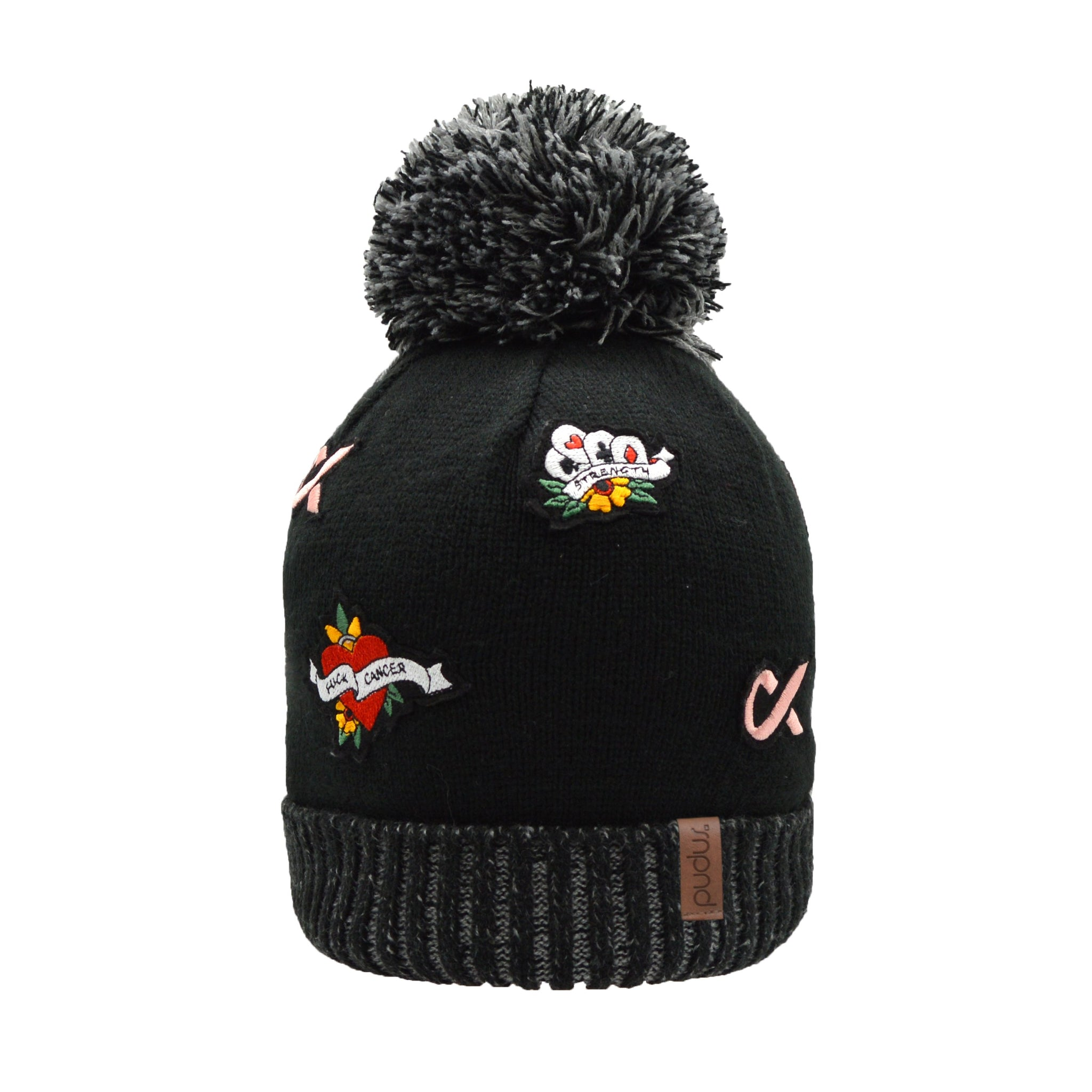 F Cancer x Pudus Toque Hat | Multi Patch