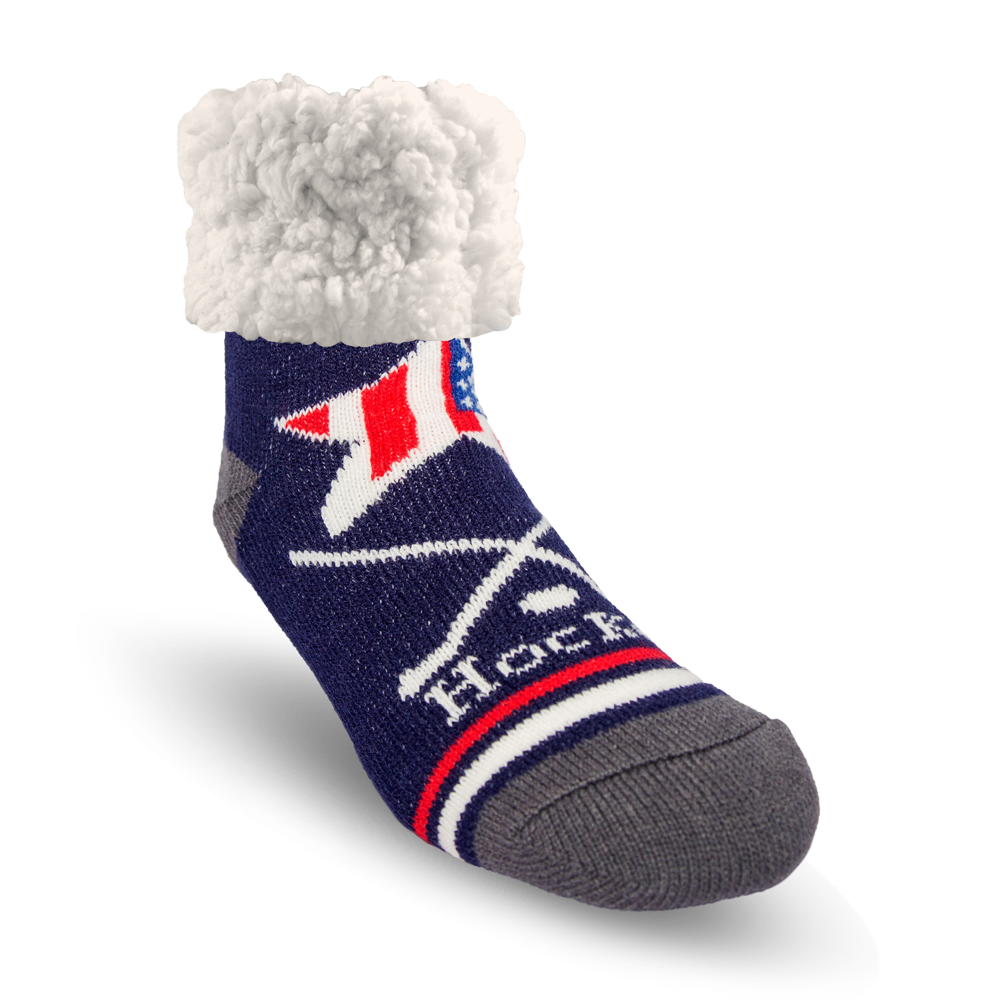 Classic Slipper Socks | USA Hockey
