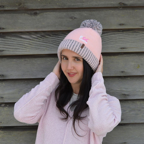 F Cancer x Pudus Toque Hat | Pink