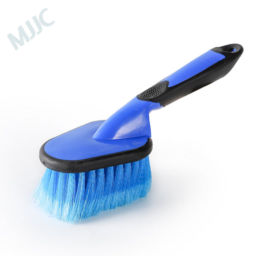 Blue Wheel Brush with Black and Blue Handle