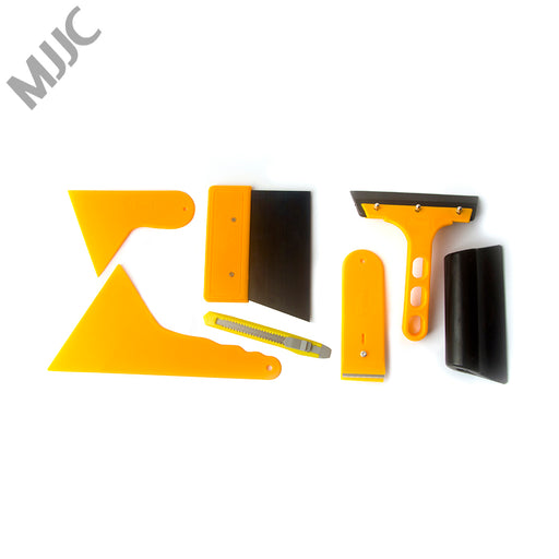 MJJC brand Neoteck 7 in 1 Car Window Film Tools Squeegee Scraper Set Kit For Car Home