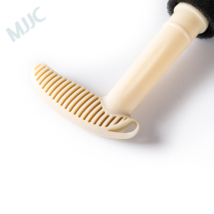 MJJC car wash embedded steel ring screw cleaning brush hub nut cleaning tool fine wash tire screw brush