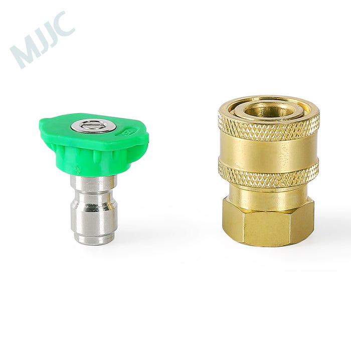 MJJC Brand Short Water Spray Lance Wand Nozzle for Black&Decker / Skil 0760 / Makita / AR Blue / Bosche AQT series Pressure Washer