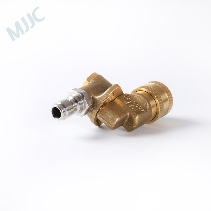 "High Pressure Swivel Spray Nozzles with 1/4"" Quick Connection Nipple"