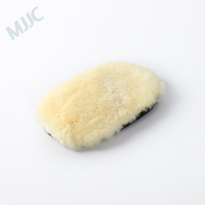 Wool Wash Pad Single Side Wool wash mitt