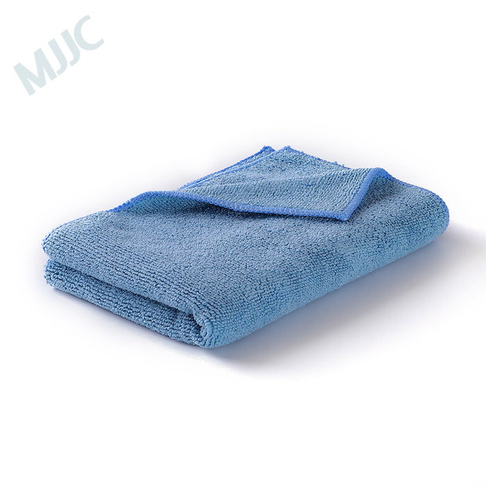 Blue Microfiber cleaning and Buffing towel 40x40cm and 40x60cm