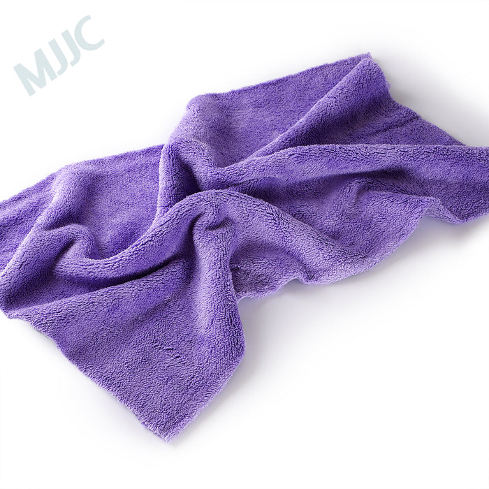 Edgeless Microfiber Towel 600gsm 40x40cm and 40x60cm Purple