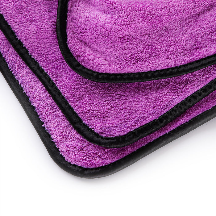 MJJC 40*60 cm Super Absorbent Car Wash Microfiber Towel Car Cleaning Drying Cloth Hemming Car Care Cloth