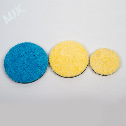 "Microfiber Finishing Pad 3"" 5"" and 6"" inch options"