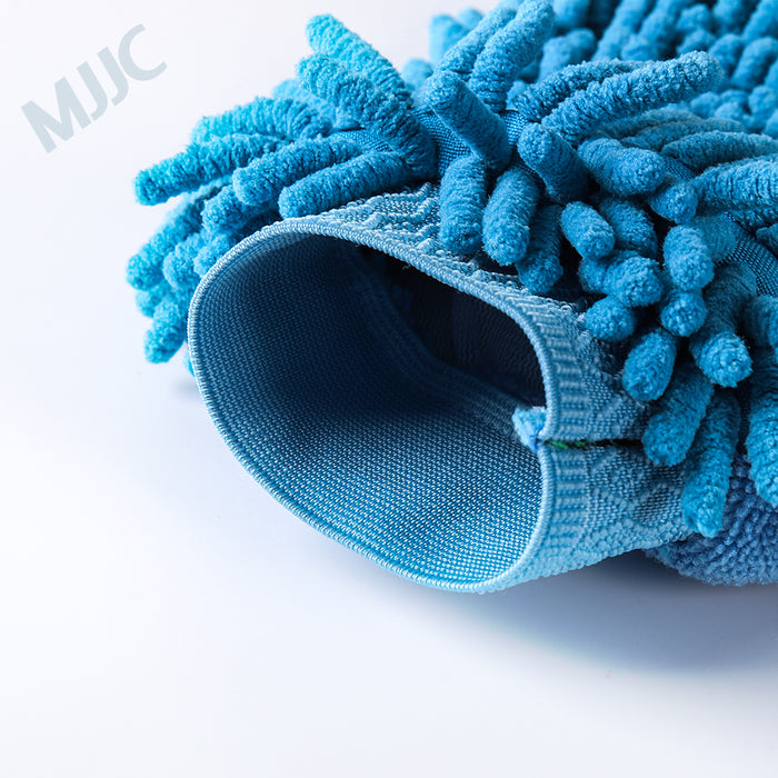 Microfiber and Chenille Wash Mitt