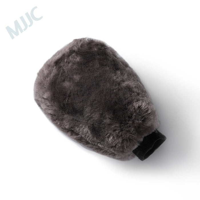Wool Wash Mitt Grey Color