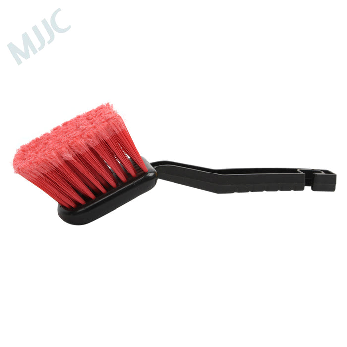 Red Hair Brush for Tyre Wheel and Carpet Cleaning