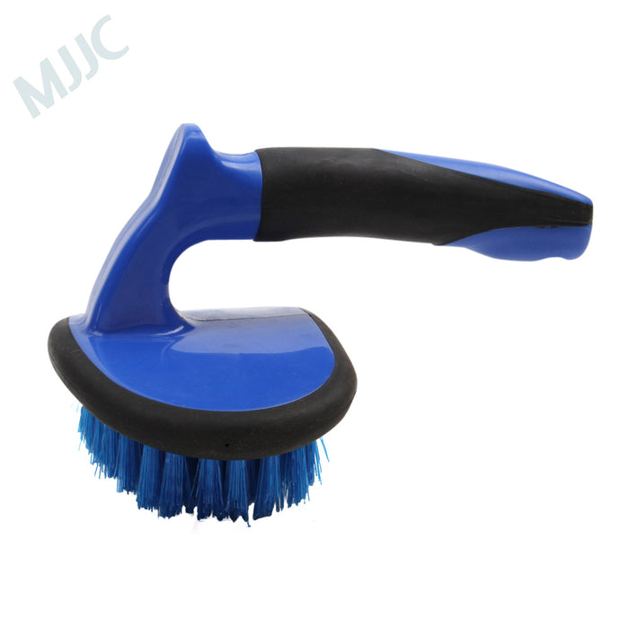 Blue Tyre Cleaning Brush