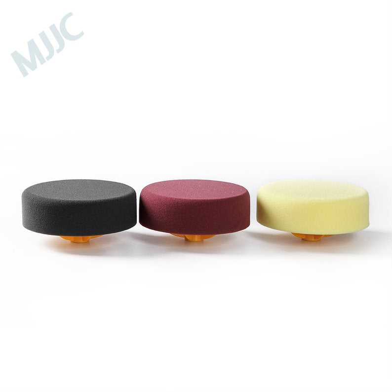 MJJC 6 inch High Tensil Strength Sponge Back plate Polish Pads