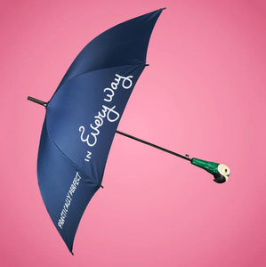 Mary Poppins Umbrella with Parrot Head Handle