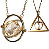 Turner Necklace & Deathly Hallows Pendant