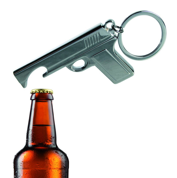 007 gun Keychain / Keyring and Bottle Opener