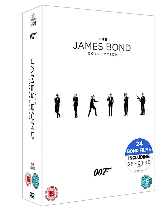 The James Bond Collection 1-24 [DVD]