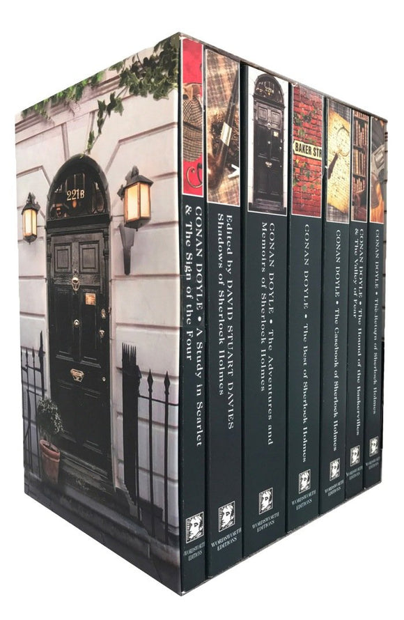 The Complete Sherlock Holmes Book Collection