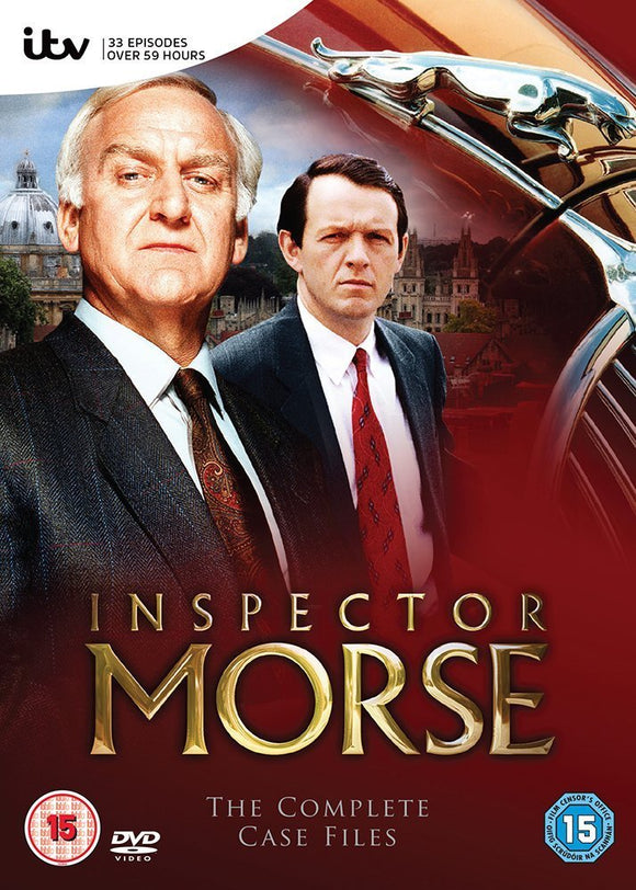 Inspector Morse - The Complete Series 1-12 DVD Box Set