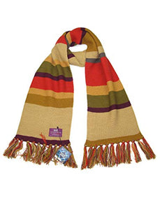 The 4th Doctor (Tom Baker). Official BBC Licensed Doctor Who Scarf